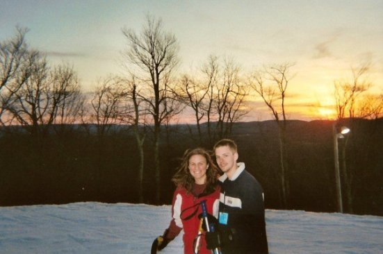 First Ski Trip. (This is important because Ray and I love to ski - and he proposed 6 years later while skiing Beech mountain!)