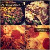 EASY Baked SpaghettiRecipe