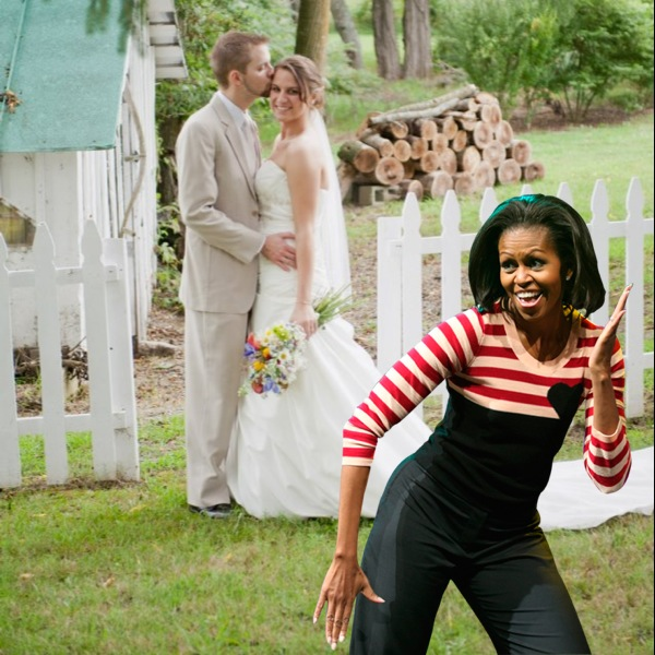obama at my wedding oh hey election day joy will grow