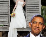Obama at my wedding?!? Oh Hey, ElectionDay.