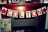 The Easiest DIY Name Banner