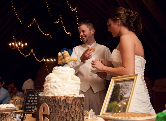 barn wedding reception country rustic yellow.jpg