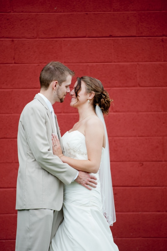 Wedding Photo Red Backdrop